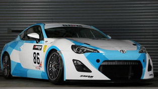 toyota gt 86 gt4 race car