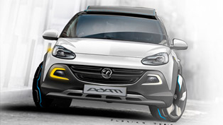 Official World Premiere of Vauxhall Adam Rocks Concept in Geneva