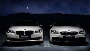 Winter Tale: Vilner Transforms BMW 5-Series F10 and 6-Series M F12 [VIDEO]