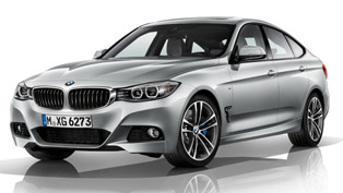 2013 BMW 3-Series GT [leak images]