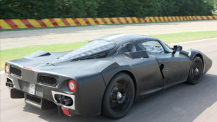 Ferrari F150 at the Race Track [video]