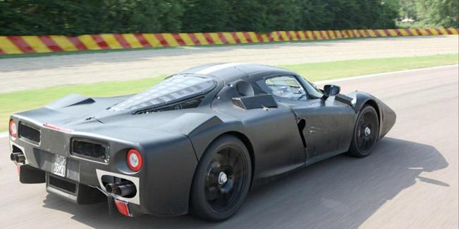 Ferrari F150 At The Race Track Video