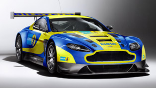 2013 Aston Martin V12 Vantage GT3 Supported By Bilstein