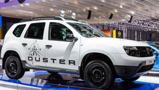 2013 Geneva Motor Show: Dacia Duster Adventure Edition