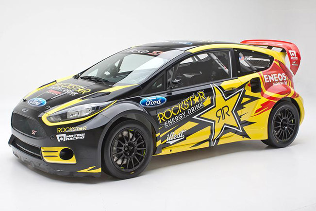 2013 tanner foust ford fiesta st rockstar energy drink car. Black Bedroom Furniture Sets. Home Design Ideas