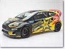 2013 Tanner Foust Ford Fiesta ST Rockstar Energy Drink Car Unveiled
