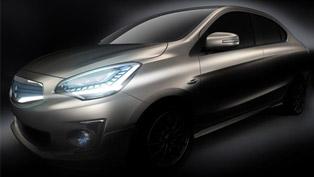 mitsubishi g4 concept compact sedan debuts in bangkok [teaser]