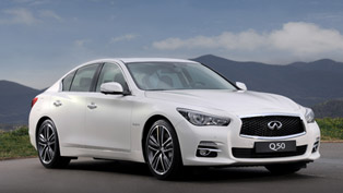 Geneva Motor Show: 2014 Infiniti Q50 [VIDEO]