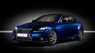 Geneva Motor Show: European Debut For 2014 Lexus IS 300h