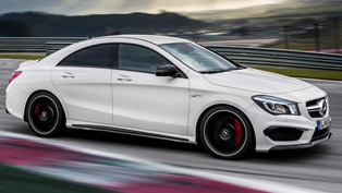 2014 Mercedes-Benz CLA 45 AMG [leak images]