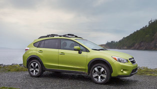 2014 Subaru XV Crosstek Hybrid Revealed In New York