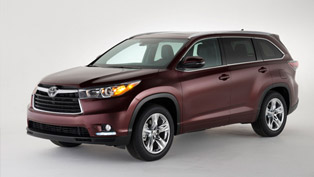 New York Auto Show: 2014 Toyota Highlander