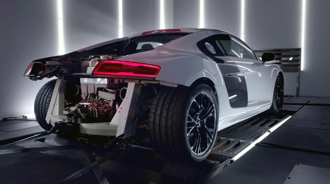 Audi R V Plus Supercar Unleashed VIDEO - Audi super car