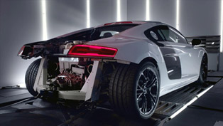 Audi R8 V10 Plus Supercar Unleashed [VIDEO]