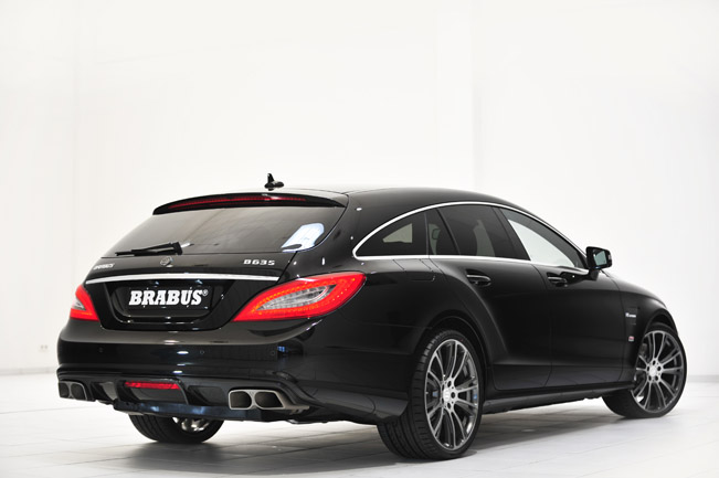 Brabus B63s 730 Based On Mercedes Benz Cls 63 Amg