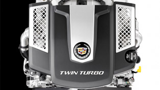 cadillac twin-turbo v6 in 2014 cts sedan