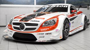 carlsson mercedes-benz slk 340 race car revealed in geneva