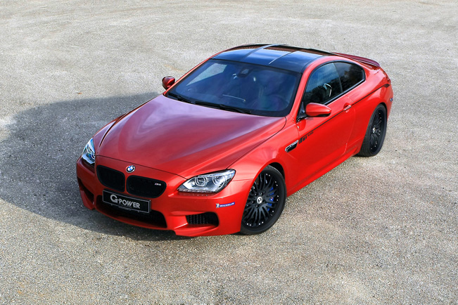 G-Power BMW M6 F13 Coupe - 640HP and 777Nm