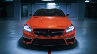 German Special Customs Mercedes-Benz CLS63 AMG Stealth