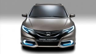 Geneva Motor Show: Honda Civic Tourer Concept
