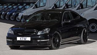 KTW Mercedes-Benz C 63 AMG Black Daimler With Extra Power