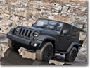 Ultimate Athlete's Car: Kahn Jeep Wrangler In Matt Grey
