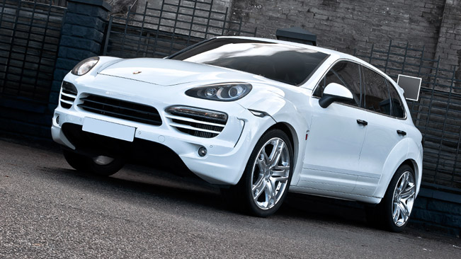 Kahn porsche cayenne supersport wide track revealed ahead - Super sayenne ...