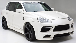 misha designs porsche cayenne wide-body