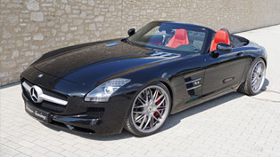 mercedes-benz sls 63 amg roadster enhanced by senner tuning