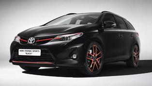 Geneva Motor Show: Toyota Auris Touring Sports Black