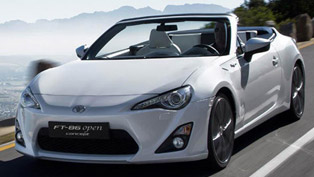 Toyota FT-86 Open Concept - Drift and Wind in the Hair