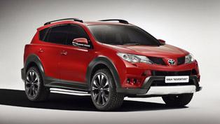 Geneva Motor Show: Toyota Unveils RAV4 Premium Concept And RAV4 Adventure
