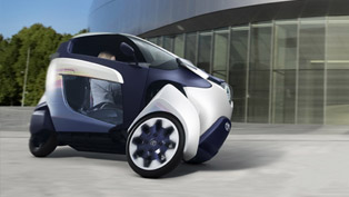 Toyota i-Road Concept With World Premiere In Geneva