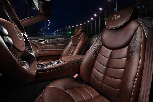 Hot vilner enhances the interior of mercedes benz sl for Mercedes vito interieur