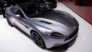 2013 Geneva Motor Show: Aston Martin Vanquish Centenary