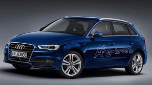 2013 Geneva Motor Show: Audi A3 Sportback g-Tron
