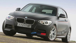 Sportec BMW 1-Series M135i in Geneva