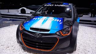 2013 Geneva Motor Show: Hyundai I20 WRC
