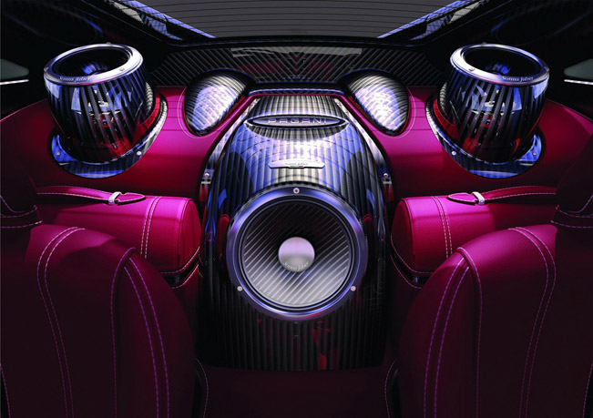 Pagani And Sonus Faber Create High End Huayra Audio System