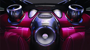 pagani and sonus faber create high-end huayra audio system