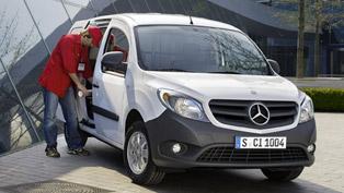 Mercedes-Benz Citan Euro NCAP Crash Test - 3 Stars