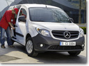 Mercedes-Benz Citan Euro NCAP Crash Test - 3 Stars