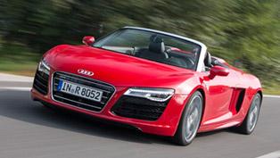 2014 Audi R8 Spyder V10 Goes Officially On Sale [VIDEO]