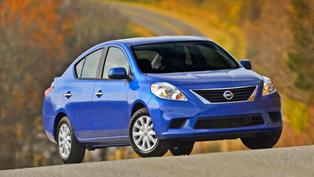 2014 Nissan Versa Sedan - Pricing Announced