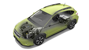 2014 Subaru XV Crosstek Hybrid Debuts In Japan