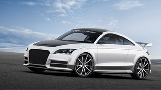 New Meaning Of Lightweight: Audi TT Ultra Quattro Concept