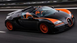 Bugatti Veyron Grand Sport Vitesse World Record Car Edition - 408.84 km/h