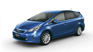 Daihatsu Mebius S Touring Offers Hybrid Power