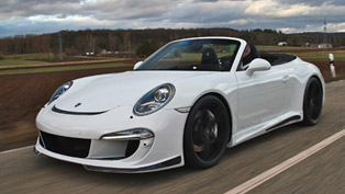 Gemballa Porsche 991 Carrera S Convertible With GT Aerodynamic Package