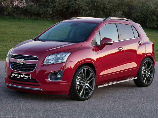 Irmscher Chevrolet Trax Big Wheels And Nice Style